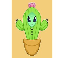 Alien Cactus Lord Photographic Print