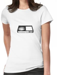 Betamax Tape Womens Fitted T-Shirt
