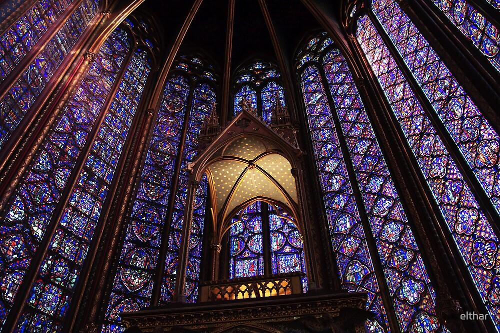 Colors of Sainte Chapelle by elthar