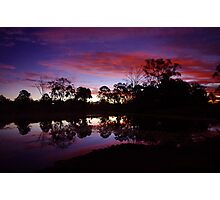Dusky Waters Photographic Print