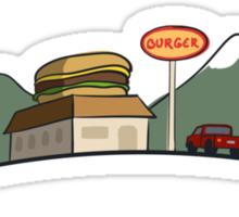Burger Joint Sticker