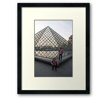 Children play Framed Print