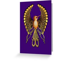 ScissorBird Greeting Card