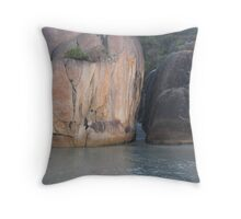 Denmark - Tidal Path Throw Pillow