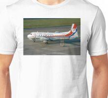 Hawker-Siddeley HS 748 Srs2 G-BEBA Unisex T-Shirt