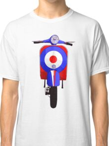 Retro Scooter with Target decal Classic T-Shirt