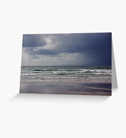 Storm over Dingle Bay, Kerry, Ireland 2 Greeting Card