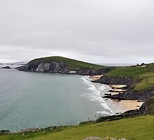 The End of Europe,  Dunquin, Kerry, Ireland by Pat Herlihy