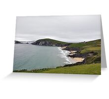 The End of Europe,  Dunquin, Kerry, Ireland Greeting Card