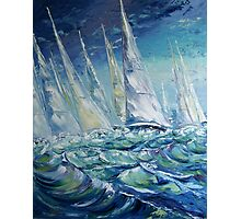 Regatta II Photographic Print