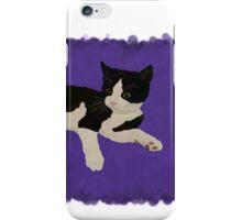 Zorro Kitten - Purple iPhone Case/Skin