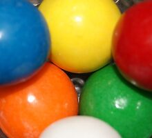 colorful gumballs by rue2