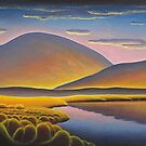 Evening surreal landscape by Alan Kenny