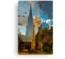 Old Cathedral  Canvas Print