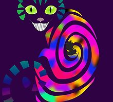 We're all mad here - Cheshire cat by busygirl
