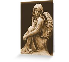 Welcome Angel Greeting Card
