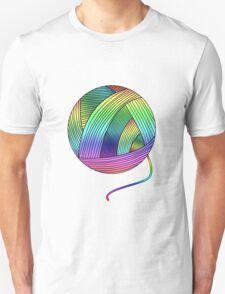 Rainbow Yarn Ball! T-Shirt