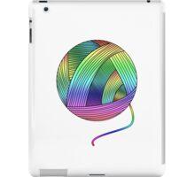 Rainbow Yarn Ball! iPad Case/Skin