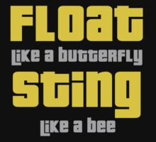 Float Like A Butterfly Kids Clothes