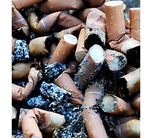 cigarettes Photographic Print