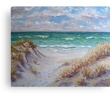 Dune Grass II Canvas Print