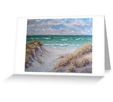 Dune Grass II Greeting Card
