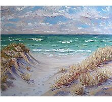 Dune Grass II Photographic Print