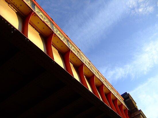 railbridge  lambeth road by kenkrash