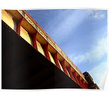 railbridge  lambeth road Poster