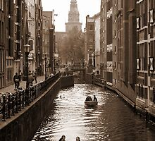 the canal race by George Salazar