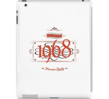 Since 1968 (Red&Black) iPad Case/Skin