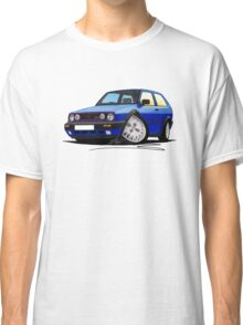VW Golf GTi (Mk2) Blue Classic T-Shirt