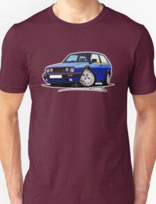 VW Golf GTi (Mk2) Blue T-Shirt