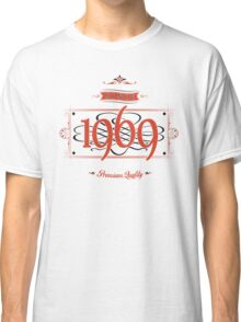 Since 1969 (Red&Black) Classic T-Shirt