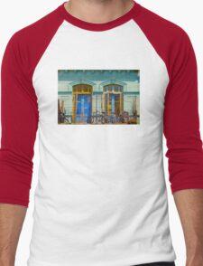 Windows in La Boca Caminito, Buenos Aires - Argentina Men's Baseball ¾ T-Shirt