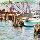 Boats in Waiting by Richard Nowak