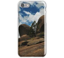 more sky ahead but watch the dropoff iPhone Case/Skin