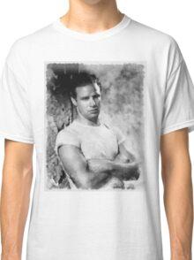 Marlon Brando by John Springfield Classic T-Shirt