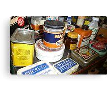 Grandma's Medicine Cabinet © Canvas Print