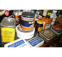 Grandma's Medicine Cabinet © Photographic Print
