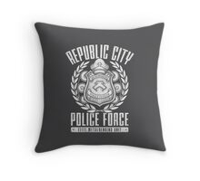 Avatar Republic City Police Force Throw Pillow