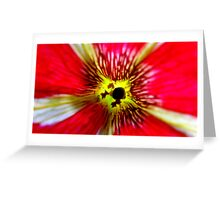 Red Nature Greeting Card