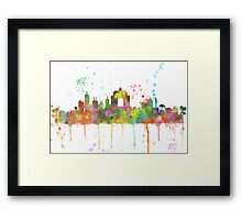 Wellington, New Zealand Skyline Framed Print
