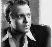 Orson Welles by John Springfield by esotericaart