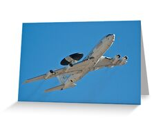E-3 Sentry, AWACS Greeting Card