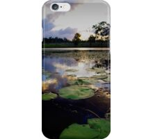 Where the bunyips party iPhone Case/Skin