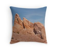 Pointers - Valley of Fire State Park Throw Pillow