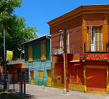 La Boca,Caminito,Buenos Aires Argentina by Atanas Bozhikov NASKO