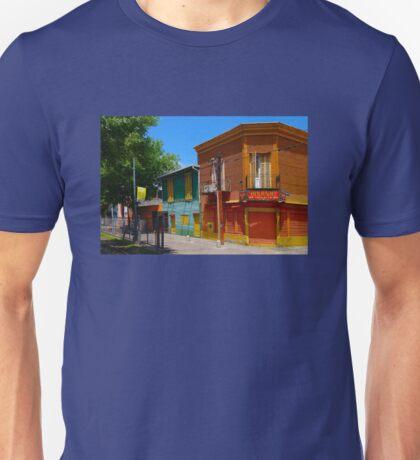 La Boca,Caminito,Buenos Aires Argentina Unisex T-Shirt