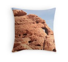 Baby elephant - Valley of Fire State Park, Nevada Throw Pillow